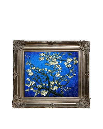 Vincent Van Gogh Branches of an Almond Tree in Blossom Framed Oil Painting