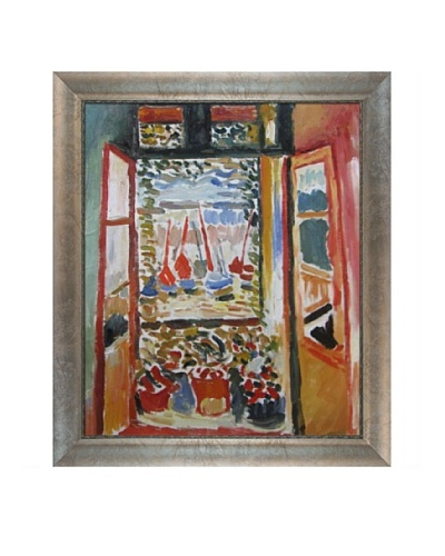 Open Window Collioure Framed Reproduction Oil Painting by Henri Matisse