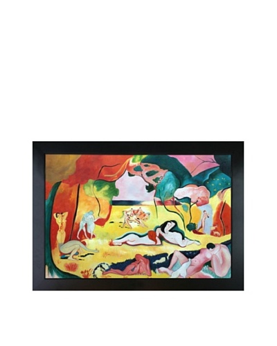 The Joy of Life Framed Reproduction Oil Painting by Henri Matisse