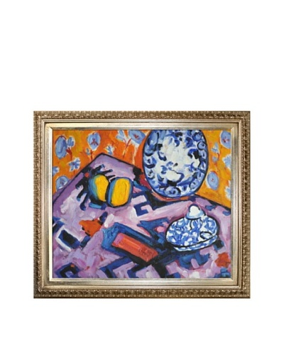 "Oil Reproduction of Alfred Maurer's ""Fauve Still Life,"" 1908-10As You See"