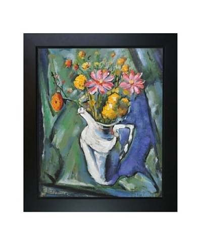Oil Reproduction of Alfred Maurer's Floral Still Life, 1912As You See