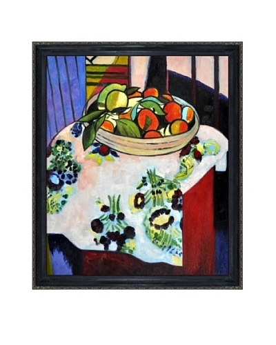 Still Life with Oranges Framed Reproduction Oil Painting by Henri Matisse