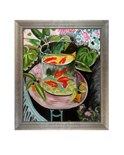 The Gold Fish Framed Reproduction Oil Painting by Henri Matisse