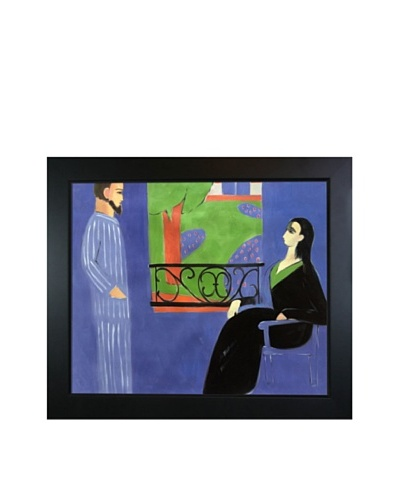The Conversation Framed Reproduction Oil Painting by Henri Matisse