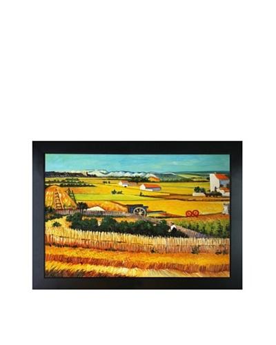 Vincent Van Gogh The Harvest Framed Oil Painting