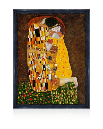 Gustav Klimt The Kiss Framed Oil PaintingAs You See