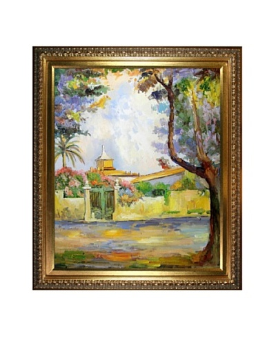 """""""Place des Lices"""" Framed Reproduction Oil Painting by Henri Matisse"""