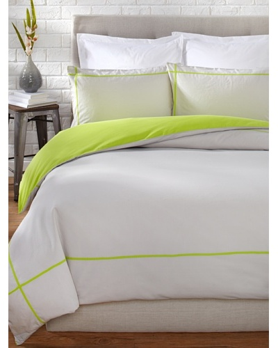 OYO Bedding Taped Stone Wash Duvet Set