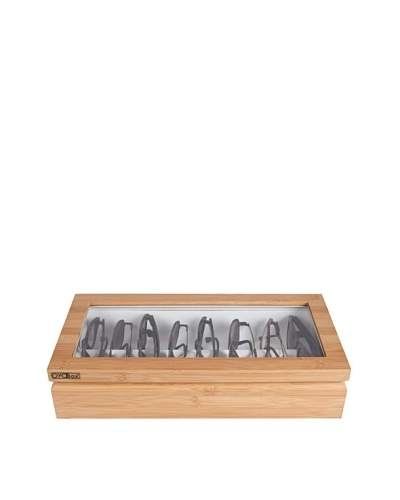 OYOBox Luxury European Inspired Eyewear Organizer, Bamboo