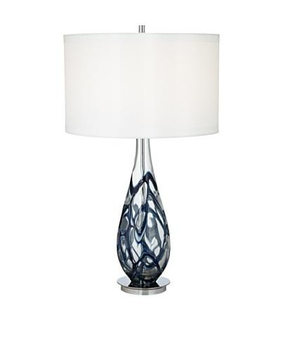 Pacific Coast Lighting Indigo Art Glass Table Lamp
