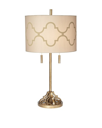 Pacific Coast Lighting Golden Palace Table Lamp, Gold Wash