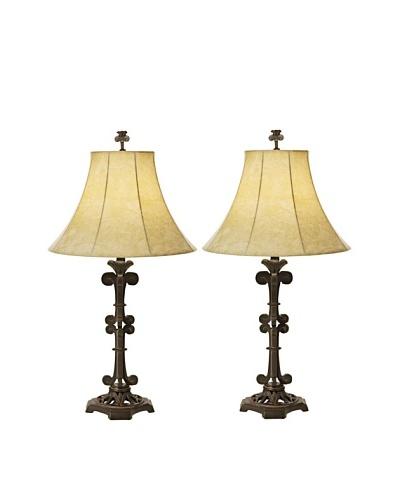 Pacific Coast Lighting Set of 2 La Luz Romatica Table Lamps