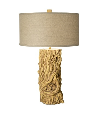 Pacific Coast Lighting Driftwood Log Table Lamp