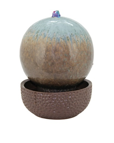 Pacific Décor Multi-LED Globe Fountain, Tropic, 11