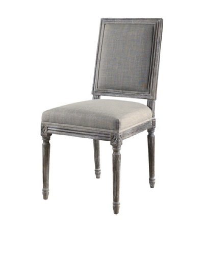 Padma's Plantation Bluff Point Dining Chair, Sand Linen
