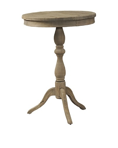Padma's Plantation Salvaged Wood Side Table, Natural