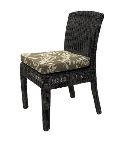 Padma's Plantation Outdoor Bay Harbor Side Dining Chair, Espresso