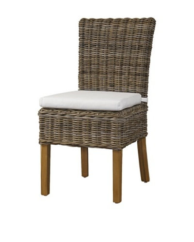 Padma's Plantation Boca Chair, Kubu Grey