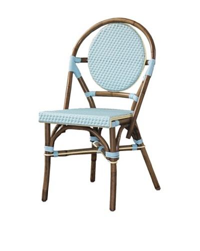 Padma's Plantation Paris Bistro Chair, Blue