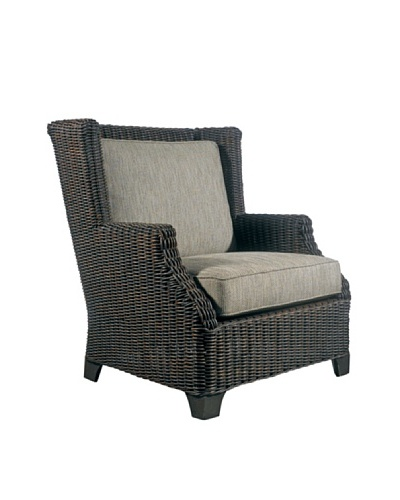 Padma's Plantation Outdoor Terrace Lounge Chair, Espresso