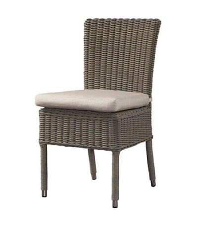 Padma's Plantation Outdoor Boca Chair, Kubu Grey