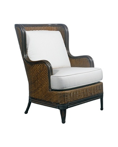 Padma's Plantation Outdoor Palm Beach Lounge Chair, Antiqued Natural