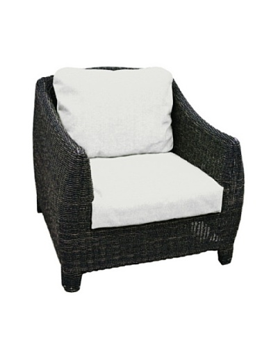 Padma's Plantation Outdoor Bay Harbor Lounge Chair, Espresso