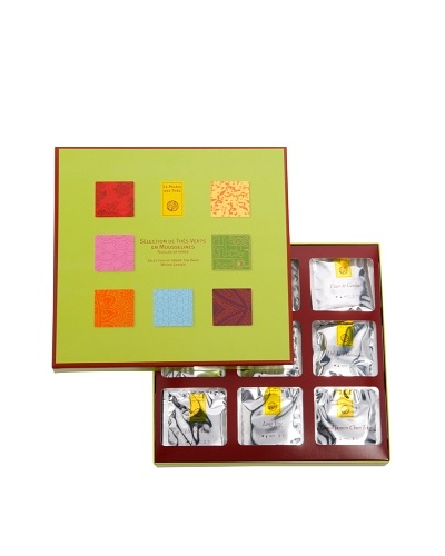 Palais des Thés Green Tea Box Set of 54 Tea Bags