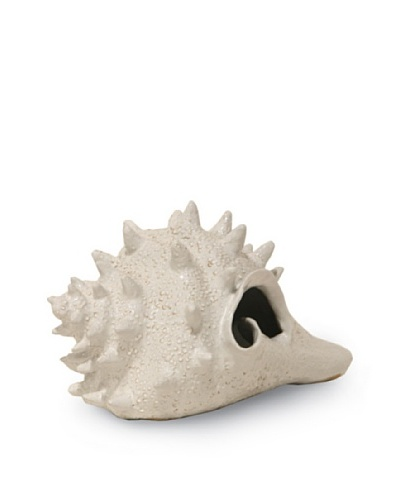 Palecek Large Ceramic Conch Shell