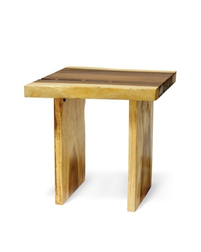 Palecek Plank Top Side Table