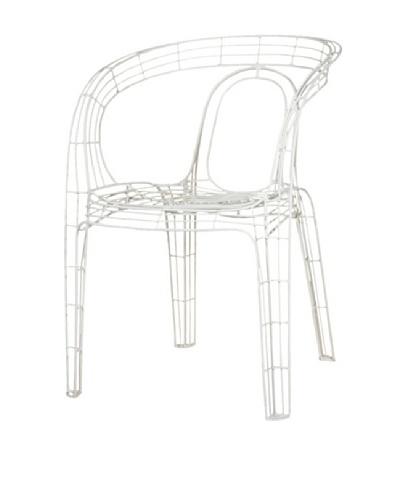 Palecek Mazatlan Outdoor Chair, White