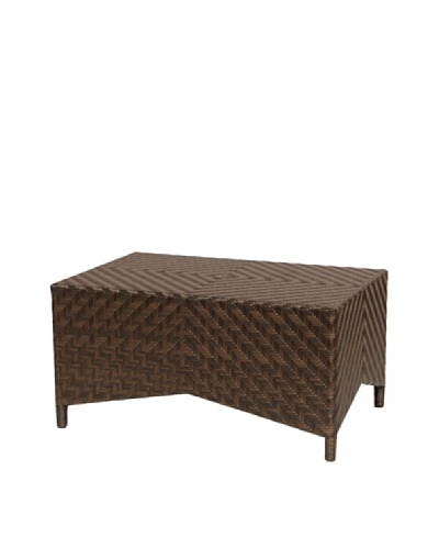 Palecek Manila Coffee Table, Dark Brown