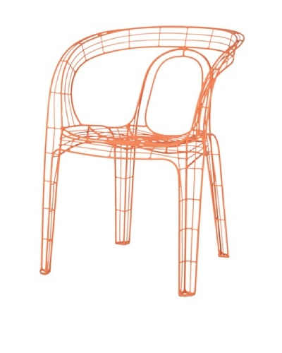Palecek Mazatlan Outdoor Chair, Orange
