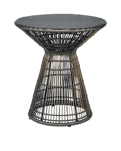 Palecek Verona Outdoor Side Table, Espresso