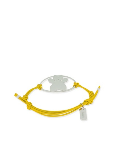 My Canine Kids Binki + Boo Adjustable Oval Paw Bracelet