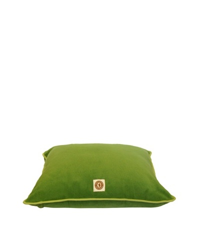 House of Barker Eco-Fleece Bed, Green, Medium