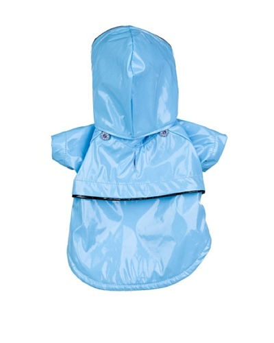 Pet Life Two-Tone PVC Raincoat
