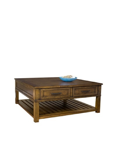 Panama Jack Eco Jack Square Lift Cocktail Table