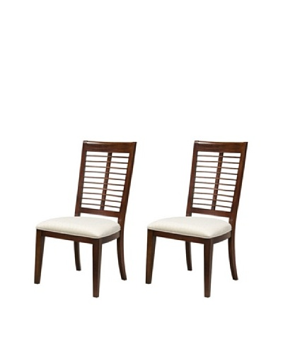 Panama Jack Eco Jack Set of 2 Slat Side Chairs
