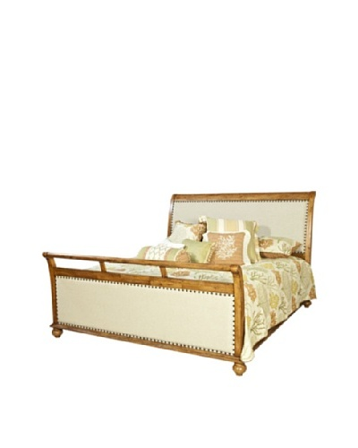 Panama Jack Coronado Sleigh Bed, Queen