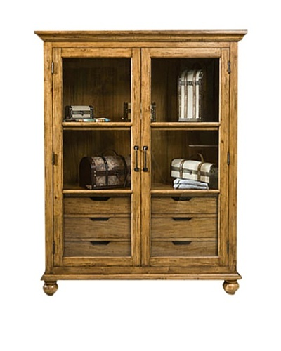 Panama Jack Coronado Display Case with Stained Drawer
