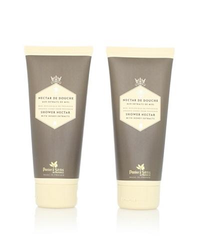 Panier des Sens Organic Honey Shower Nectar, 2-Pack