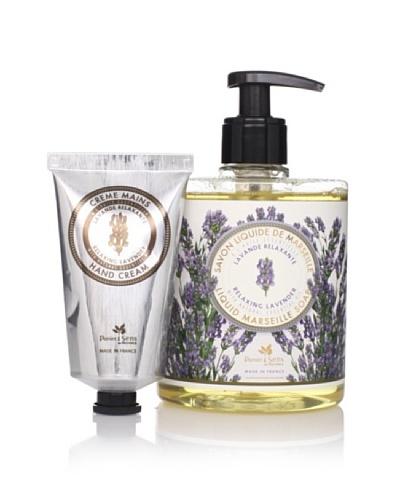 Panier des Sens Relaxing Lavender Liquid Soap & Hand Cream, Set of 2