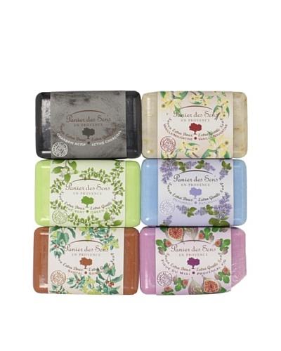 Panier des Sens Luscious Garden Soaps, Set of 6