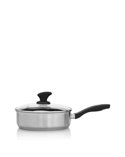 """Beka Cookware Vita Covered Silver Nonstick Sauté Pan, 9.5"""""""