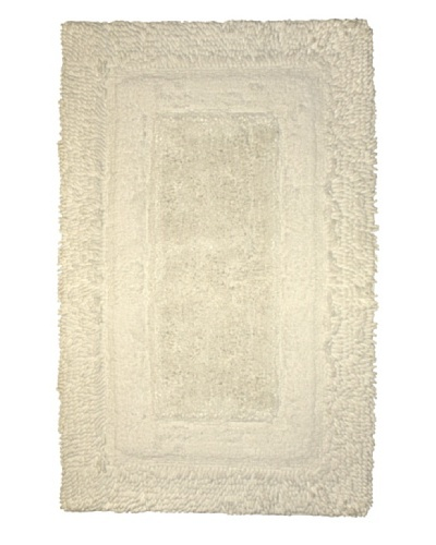 Park B. Smith Deluxe Border Bath Rug