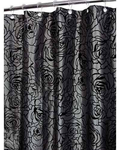 Park B. Smith Cabbage Rose Shower Curtain