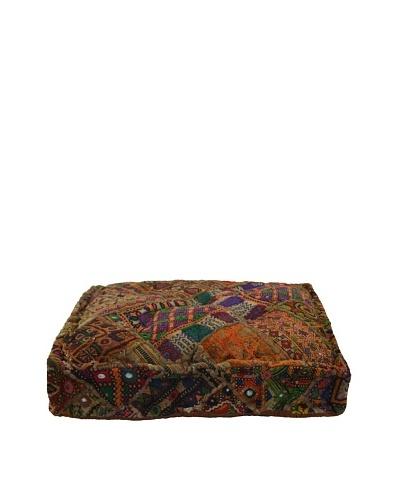 Melange Home Yoga Pillow, Medium, Old Jati
