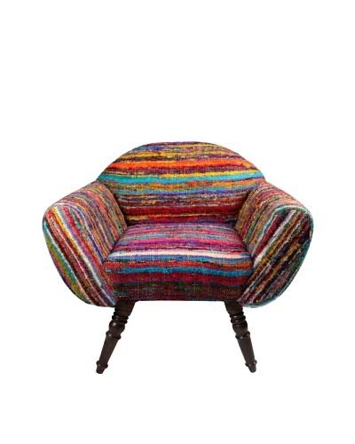 Melange Home Rajwada Chair, Multi