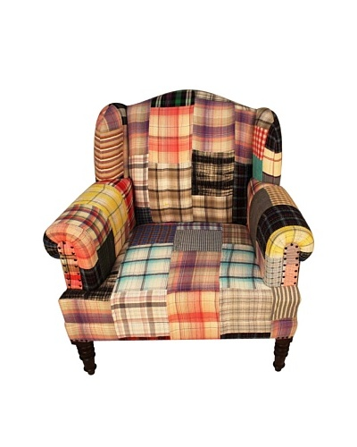 Melange Home Bengali One-of-a-Kind Chair, Madras